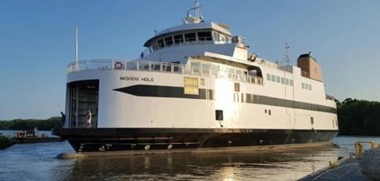 MTU发动机为渡轮MV Woods Hole提供环保绿色动力