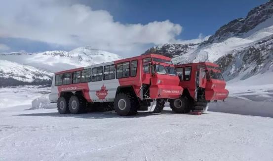 "MTU发动机助力""ICE EXPLORER""冰川游览车驰骋冰原"